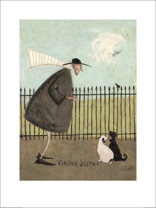 Sam Toft (Singing Lessons) Art Prints