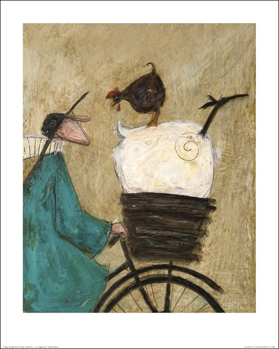 Sam Toft (Taking the Girls Home) Art Prints