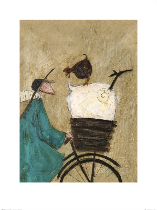 Sam Toft (Taking the Girls Home) Art Print