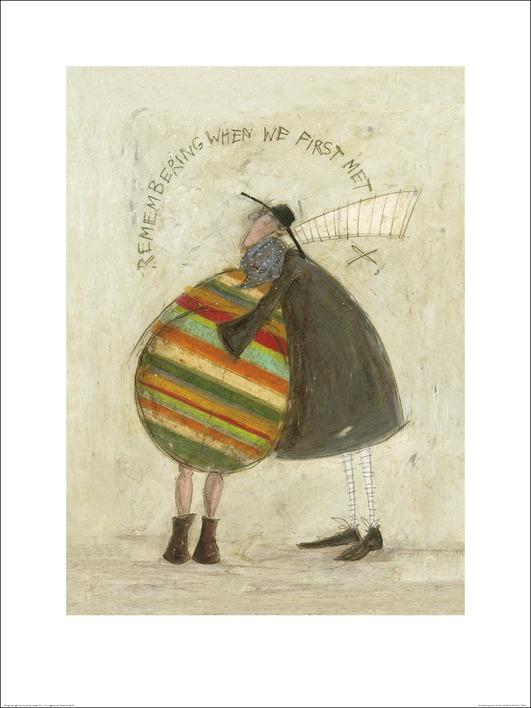 Sam Toft (Remembering When We First Met) Art Print
