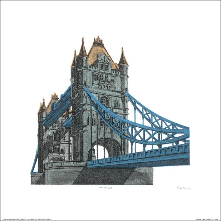 Barry Goodman (The Bridge) Art Print