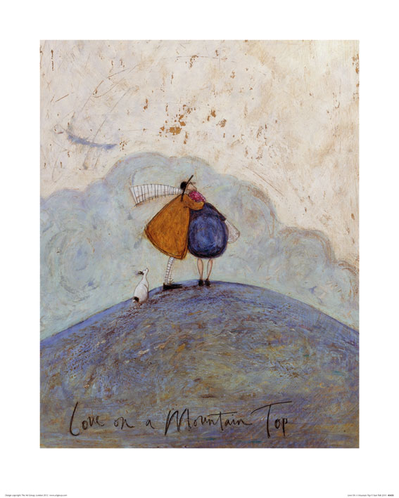 Sam Toft (Love on a Mountain Top) Art Prints