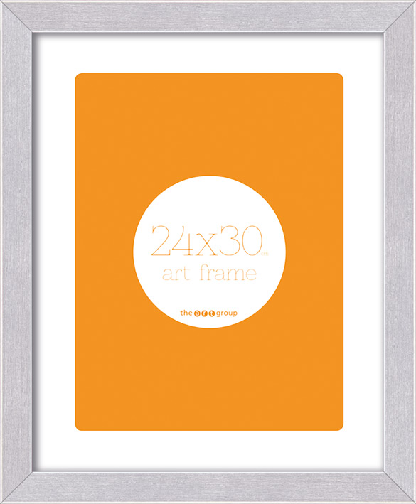 Seattle Brushed Aluminium (24x30cm) Frames