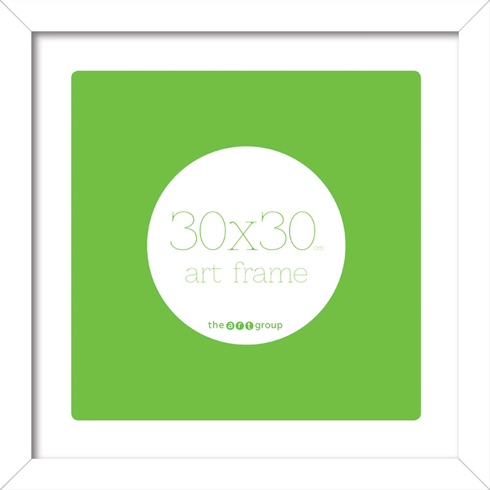 Seattle Gloss White (30x30cm) Frames
