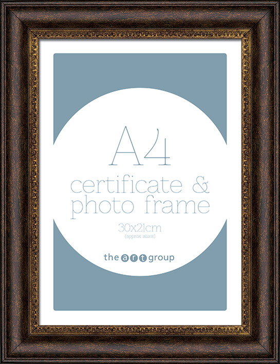Ornate Bronze (A4) Frames