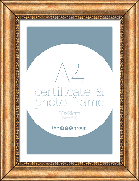 Ornate Gold (A4) Frames