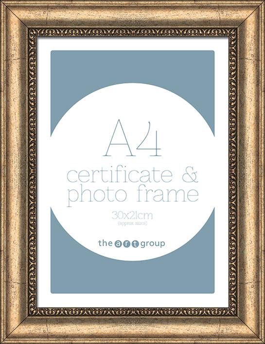 Ornate Champagne (A4) Frames