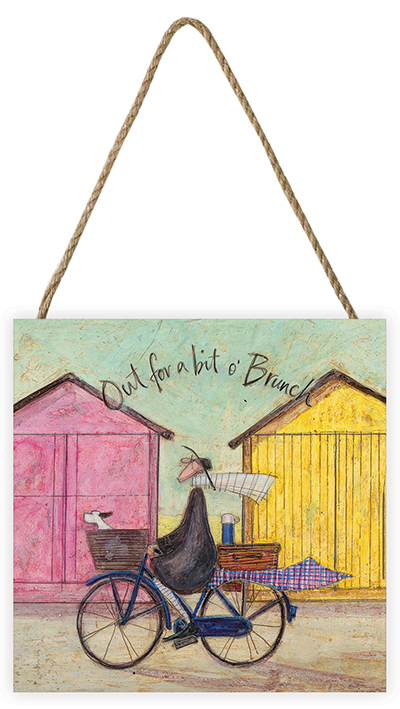 Sam Toft (Out for a bit o' Brunch) Wooden Blocks
