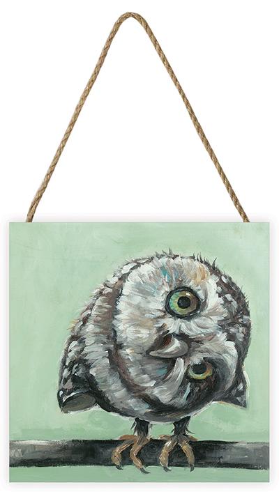Louise Brown (Little Owl) Wooden Blocks