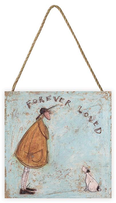 Sam Toft Forever Loved Holzwandbild 30 x 30 cm