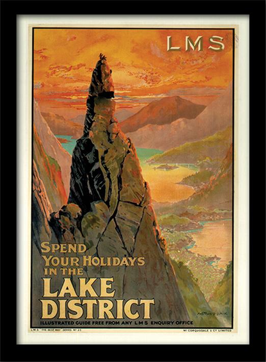 The Lake District (3) Memorabilia
