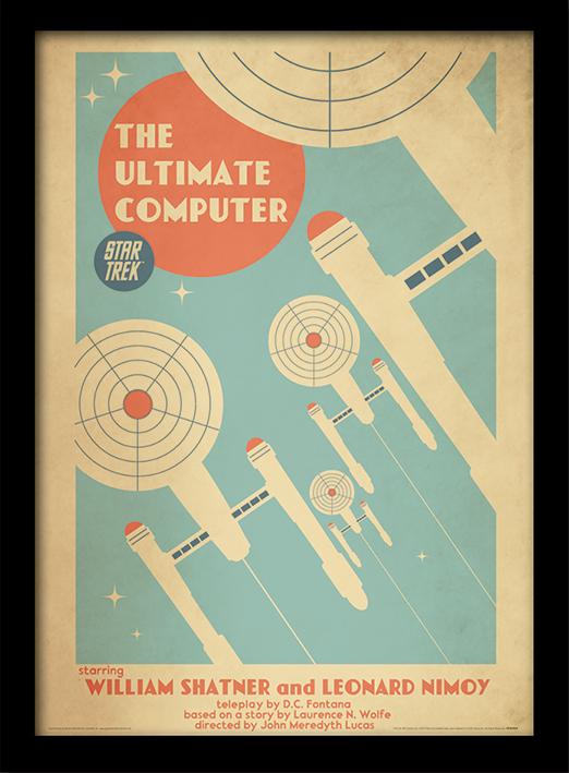 Star Trek (The Ultimate Computer) Memorabilia