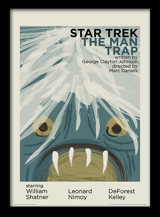 Star Trek (The Man Trap) Memorabilia