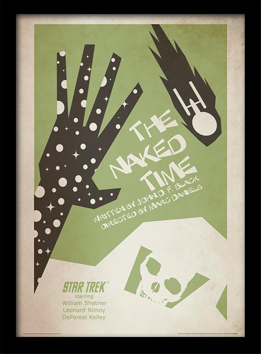 Star Trek (The Naked Time) Memorabilia
