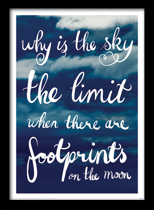 Why Is The Sky The Limit Memorabilia