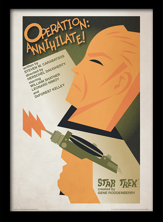 Star Trek (Operation: Annihilate!) Memorabilia