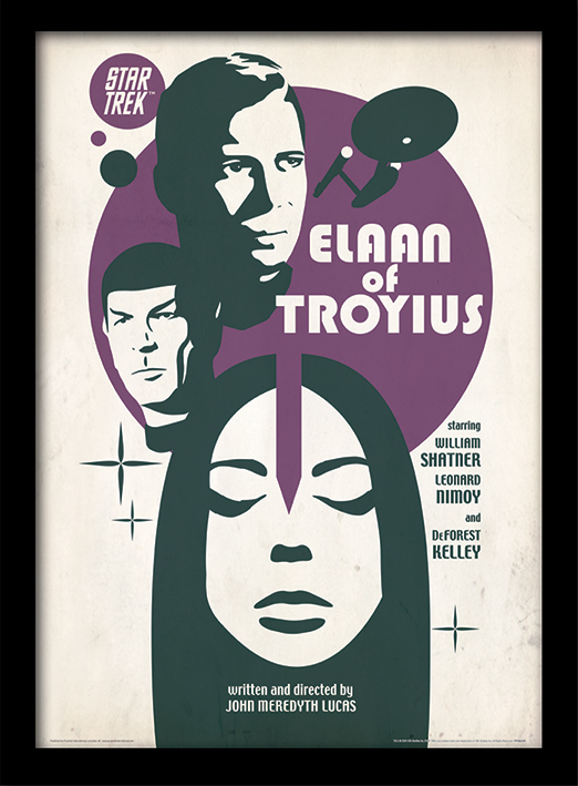 Star Trek (Elaan Of Troyius) Framed 30 x 40cm Prints