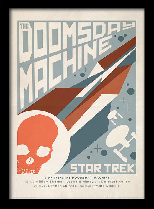 Star Trek (The Doomsday Machine) Framed 30 x 40cm Print