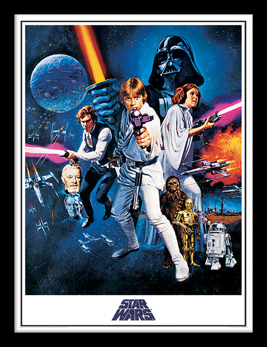 Star Wars A New Hope (One Sheet) Memorabilia