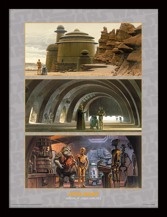 Star Wars (Arrival at Jabba's Palace) Memorabilia