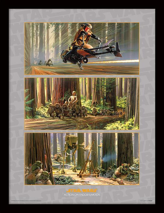 Star Wars (Action on Endor's Moon) Memorabilia