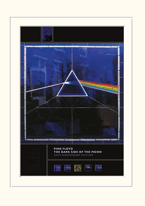 Pink Floyd (Dark Side of the Moon- 30th Anniversary) Mounted 30 x 40cm Prints