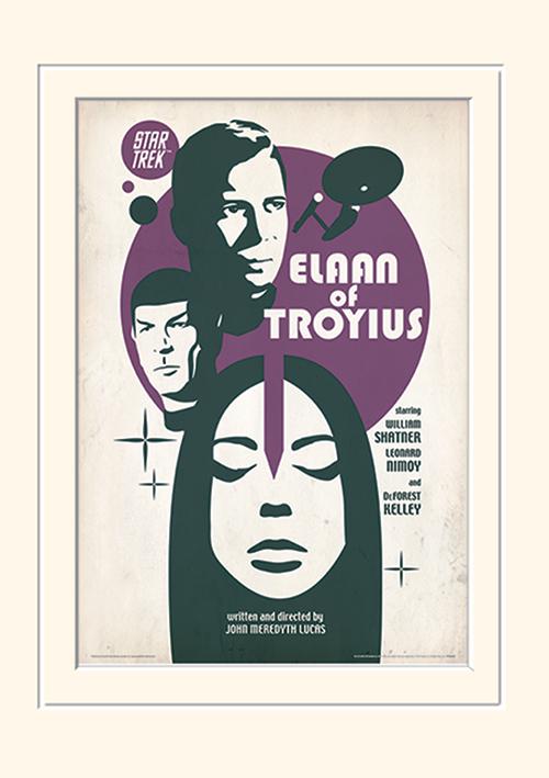 Star Trek (Elaan Of Troyius) Mounted 30 x 40cm Print