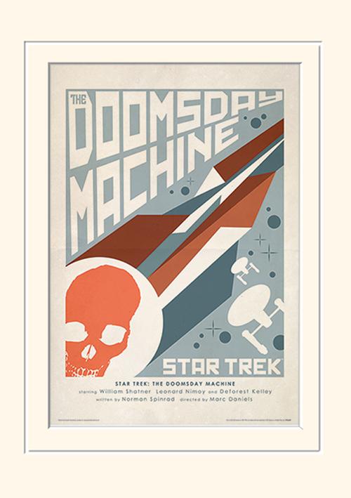 Star Trek (The Doomsday Machine) Mounted 30 x 40cm Prints