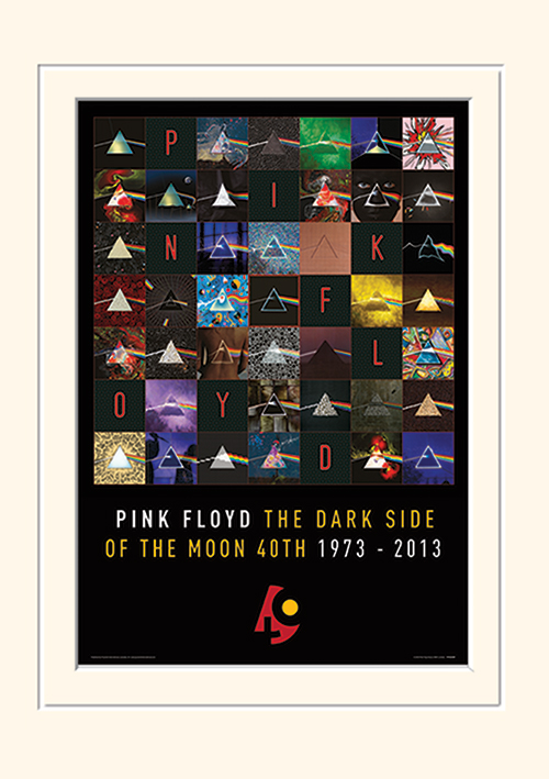Pink Floyd (Dark Side Of The Moon 40th Anniversary) Memorabilia
