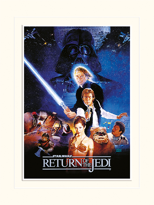 Star Wars Return Of The Jedi (One Sheet) Memorabilia