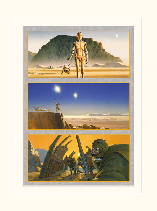 Star Wars (Tatooine: The Saga Begins) Memorabilia