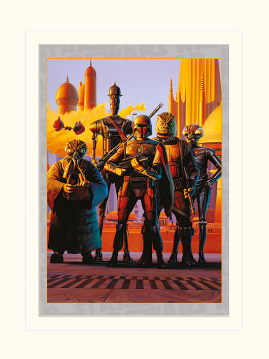 Star Wars (Bounty Hunters) Memorabilia