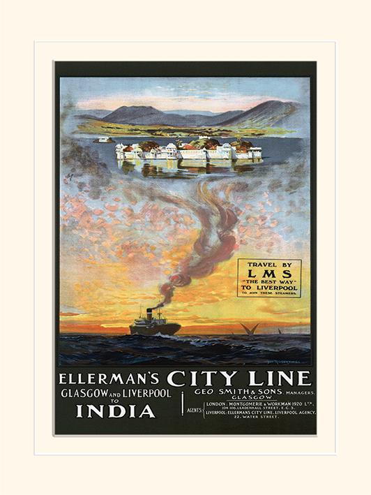 Glasgow and Liverpool to India Memorabilia