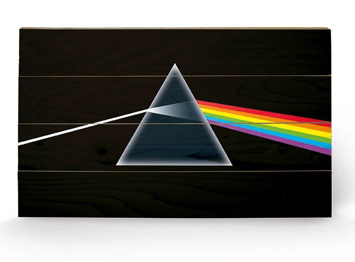 Pink Floyd (Dark Side of the Moon) Wood Print