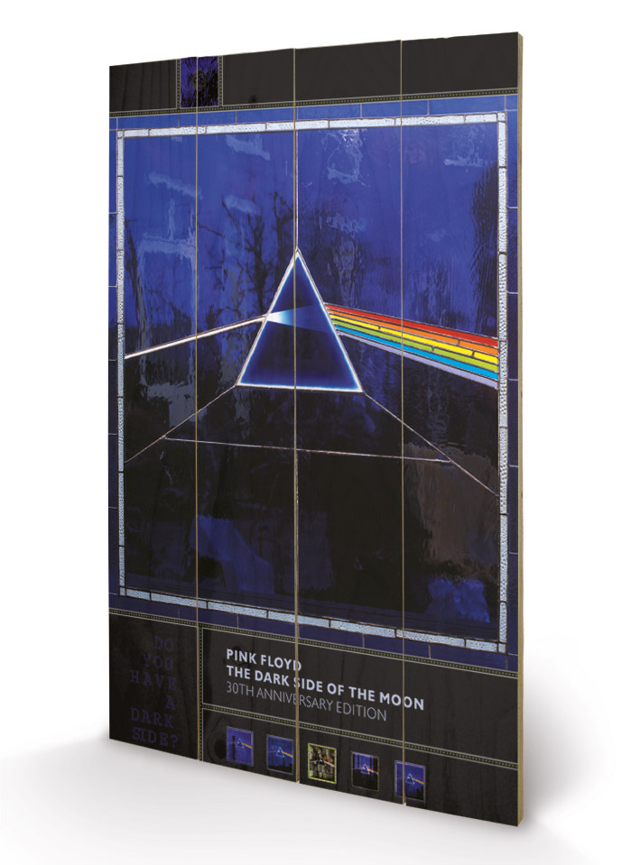 Pink Floyd (Dark Side of the Moon- 30th Anniversary) Wood Print