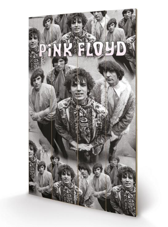 Pink Floyd (Piper) Wood Print