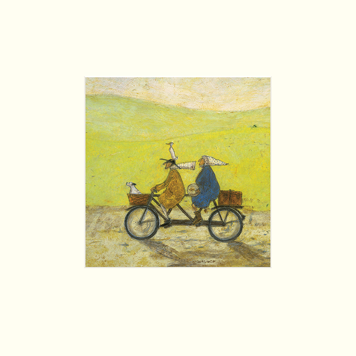 Sam Toft (Grand Day Out) Mounted Print