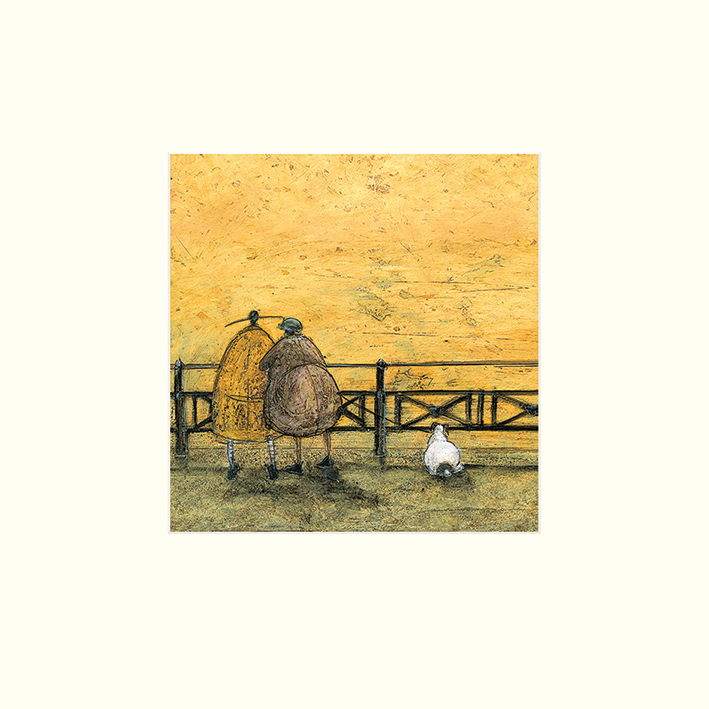 Sam Toft (A Romantic Interlude) Mounted Prints
