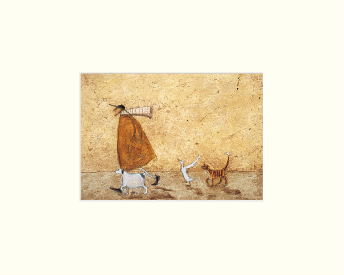 Sam Toft (Ernest, Doris, Horace and Stripes) Mounted Prints