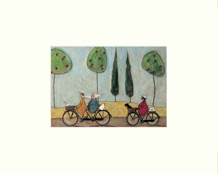 Sam Toft (A Nice Day for it) Mounted Prints