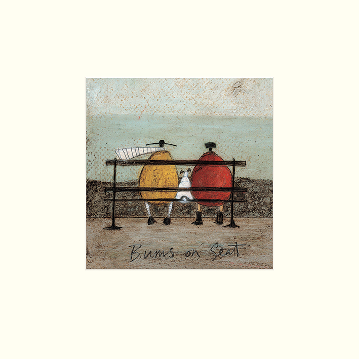 Sam Toft (Bums on Seat) Mounted Prints