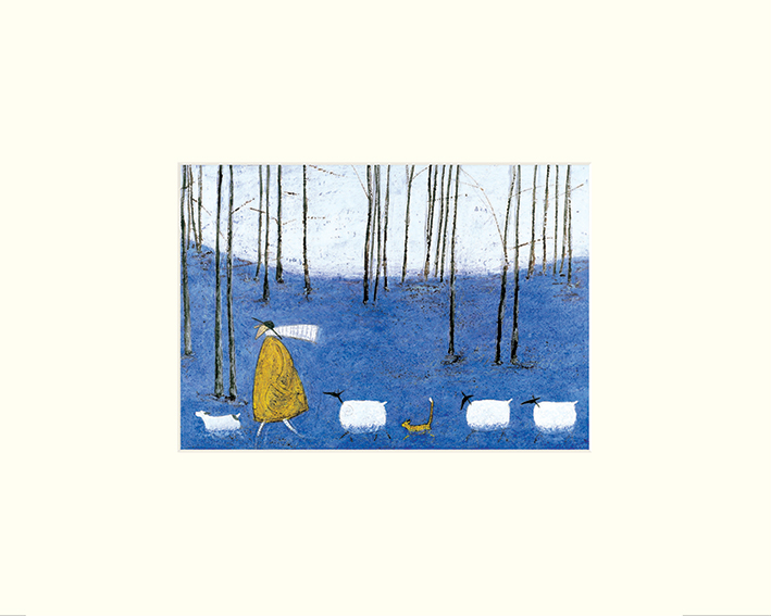 Sam Toft (Tiptoe through the Bluebells) Mounted Prints