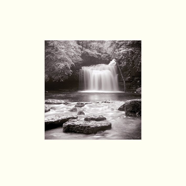 Rod Edwards (West Burton Falls, Yorkshire) Mounted Print