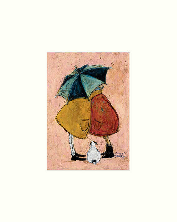 Sam Toft (A Sneaky One) Mounted Prints