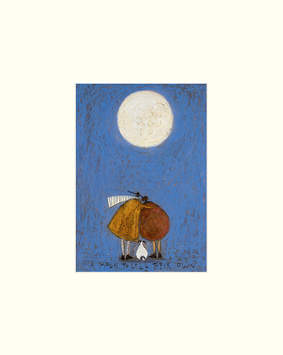 Sam Toft (A Moon To Call Their Own) Mounted Prints