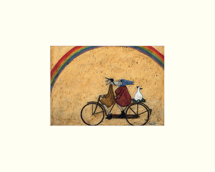 Sam Toft (Somewhere Under a Rainbow) Mounted Print