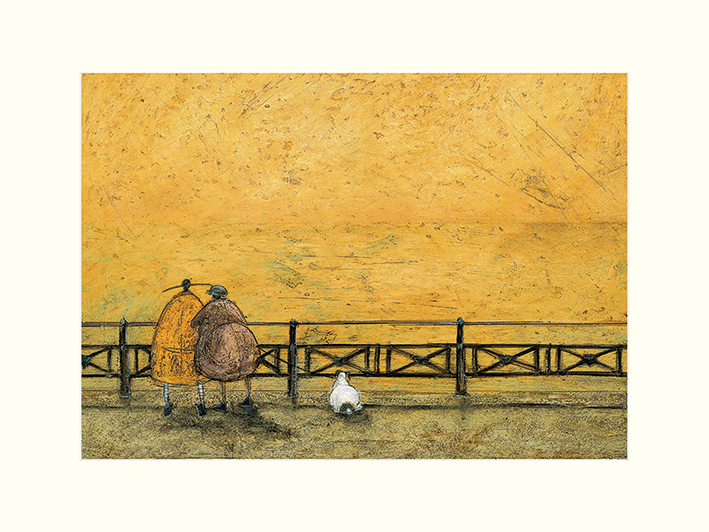 Sam Toft (A Romantic Interlude) Mounted Print