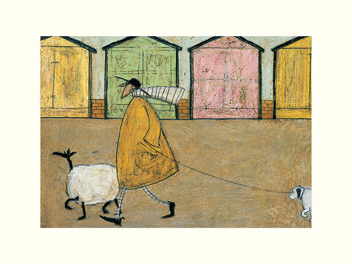 Sam Toft (Along The Prom) Mounted Print