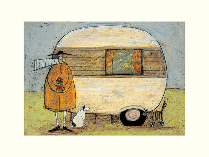 Sam Toft (Home From Home) Mounted Print