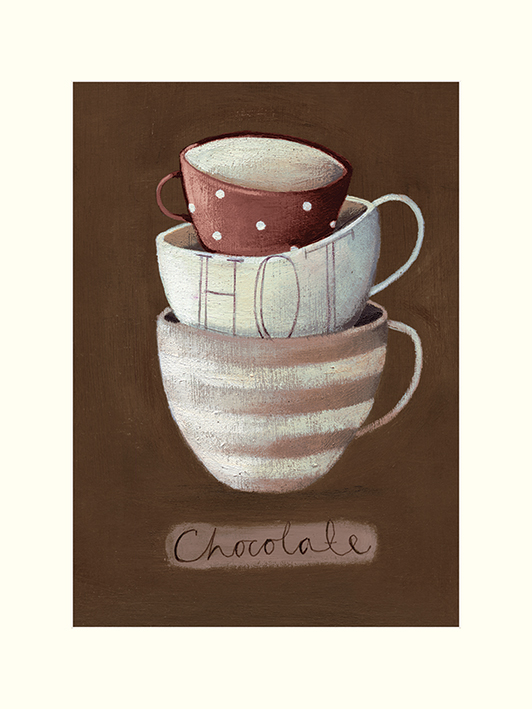 Nicola Evans (Hot Chocolate) Mounted Prints